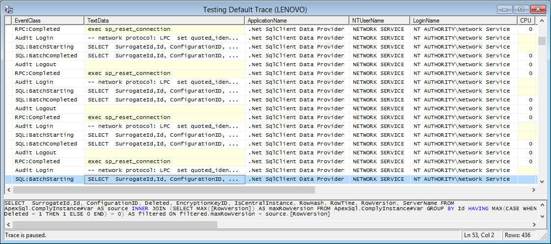 Using Sql Server Traces For Sql Server Auditing Part 1