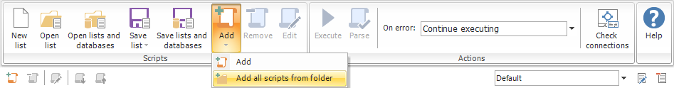 Add All Scripts From Folder