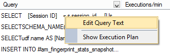 Opening the query in a new Query Editor tab