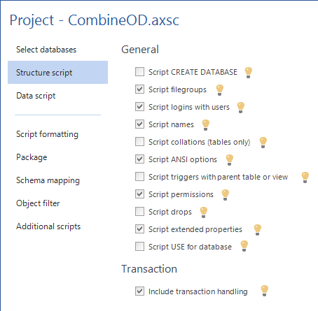 How to combine objects and data from multiple SQL databases