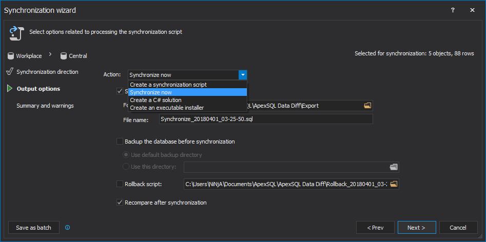 如何按计划自动同步两个SQL Server数据库中的数据