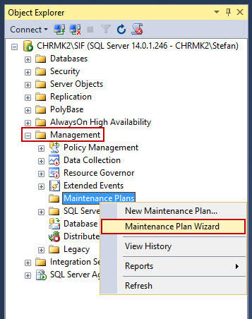 How to delete old database backup files automatically in SQL Server
