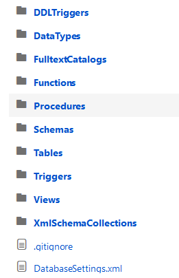 How to version control SQL scripts alongside SQL database