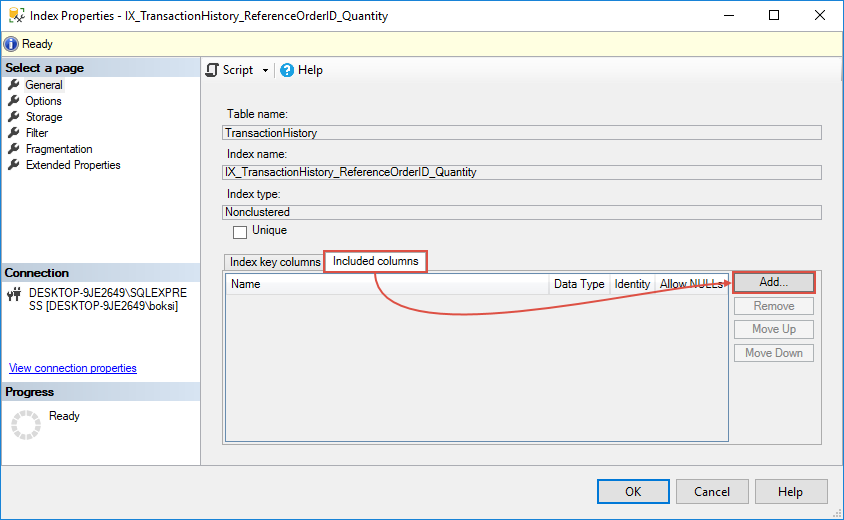 How to optimize SQL Server query performance