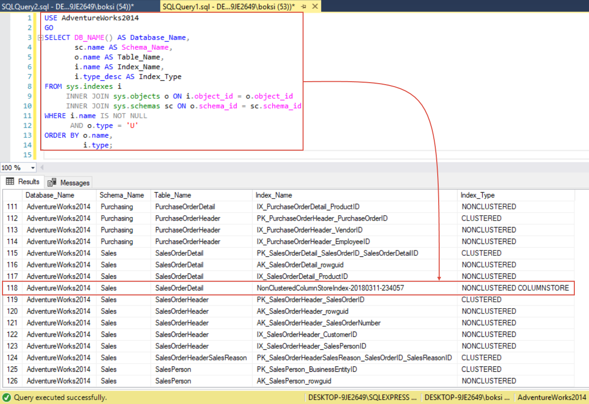 How to create and optimize SQL Server indexes for better