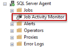 SQL Agent Job Activity Monitor