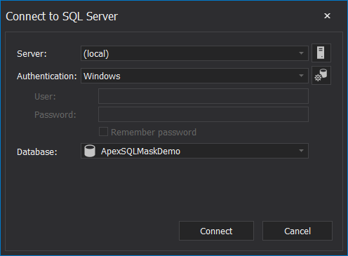 ApexSQL Mask -  the first step to clone SQL Server database
