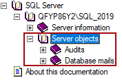 Server objects